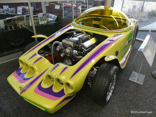 03 1994 Beatnik Bandit II, built by Eddie Roth. National Automobile Museum, Reno