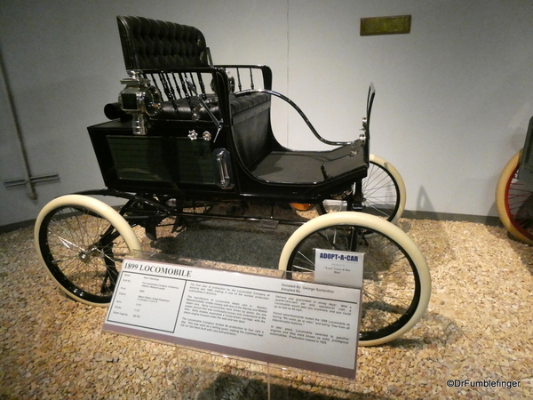 1899 Locomobile. National Automobile Museum, Reno