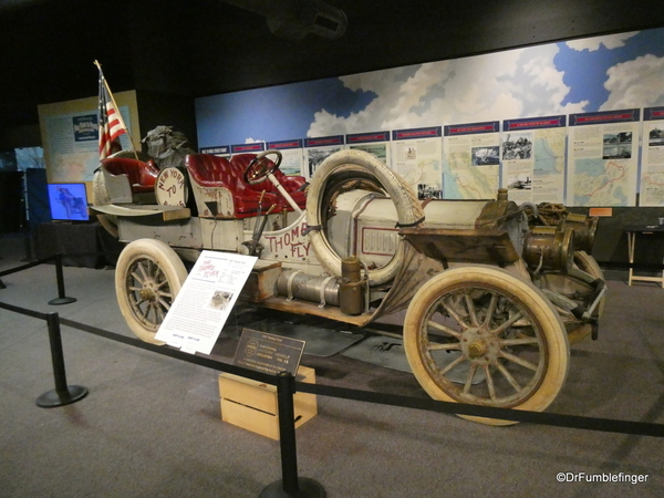 1907 Thomas Flyer, winner of the New York-Paris Automobile Race. National Automobile Museum, Reno (1)