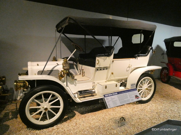 1909 White (steam), National Automobile Museum, Reno ( (2)