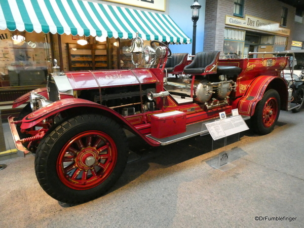 1917 American La France Firetruck. National Automobile Museum, Reno (204)