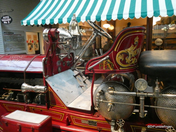 1917 American La France Firetruck. National Automobile Museum, Reno (207)