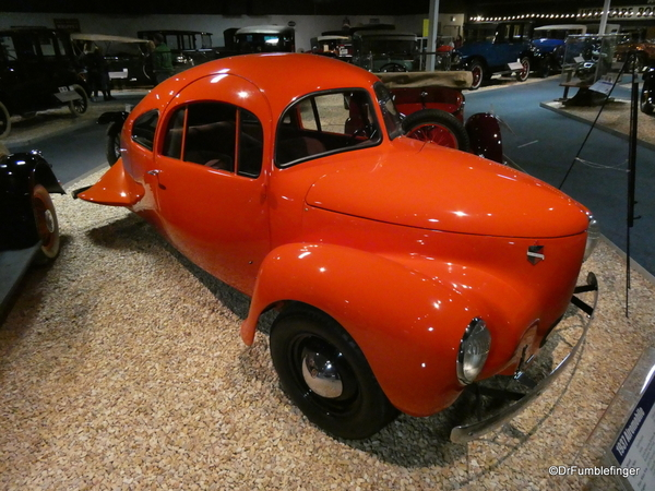 1937 Airomobile, National Automobile Museum, Reno