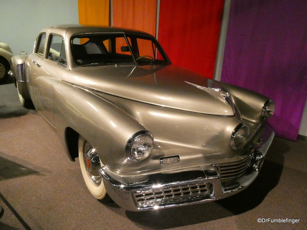 1948 Tucker. National Automobile Museum, Reno