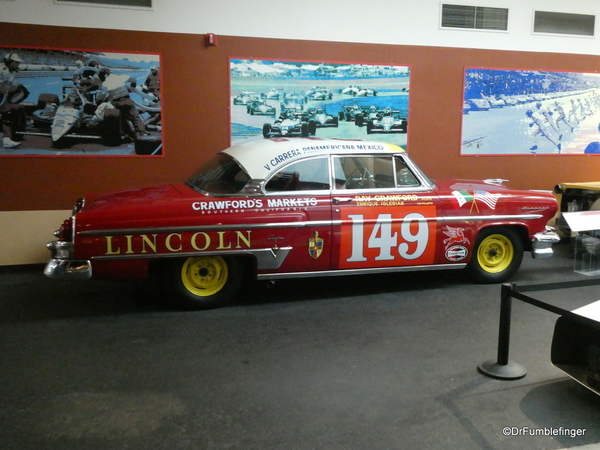 1954 Lincolnl Capri, National Automobile Museum, Reno