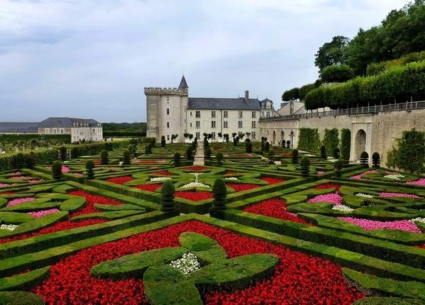 Chateau-De-Villandry-Garden