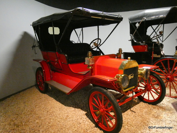 1909 Ford T Touring, National Automobile Museum, Reno (3)