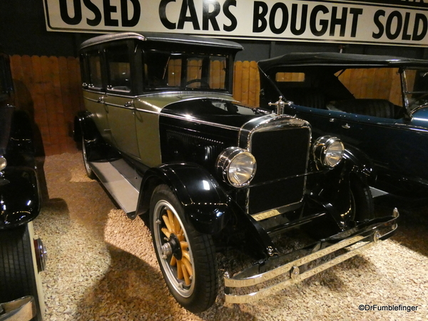 1924 Brooks Steamer, Automobile Museum, Reno (161)