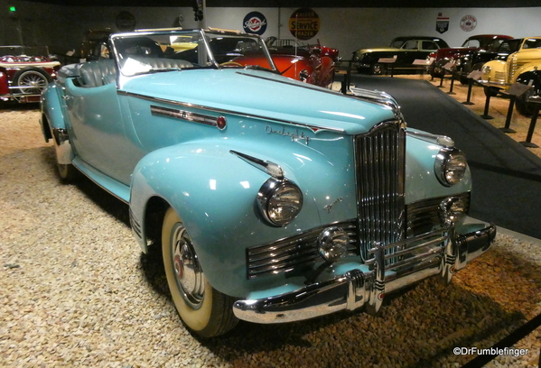 1942 Packard One Eighty convertible, National Automobile Museum (2)