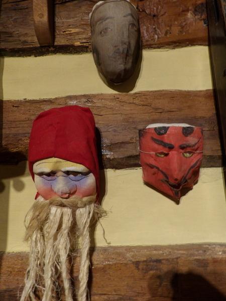 Belsnickel Christmas Masks