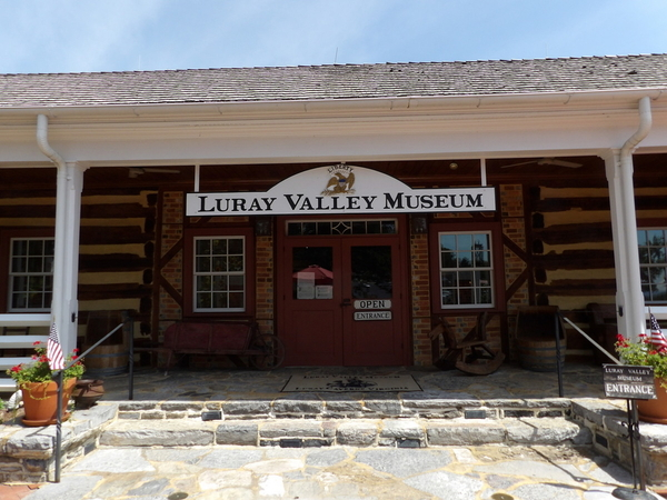 Luray Valley Museum Entrance