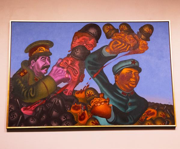 saul stalin and mao