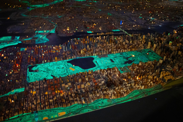 QM panorama central park night