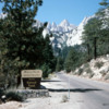 Whitney Portal, with Mt. Whitney viewed in the distance