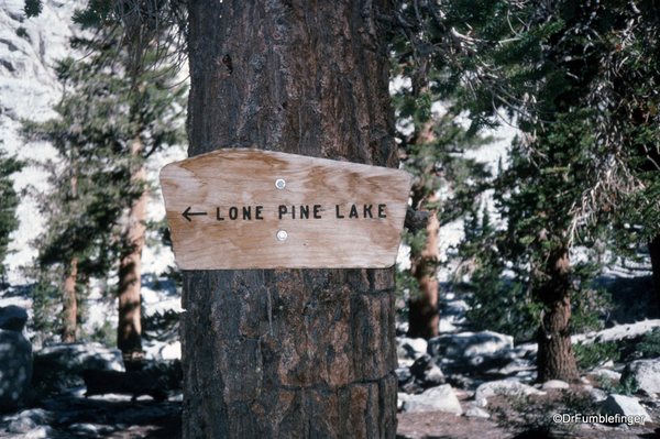 Mt. Whitney hike 09-1994 (5) Lone Pine Lake