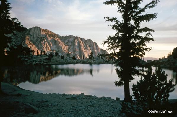 Mt. Whitney hike 09-1994 (7) Lone Pine Lake