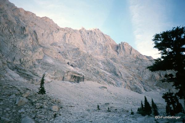 Mt. Whitney hike 09-1994 (9) Lone Pine Lake