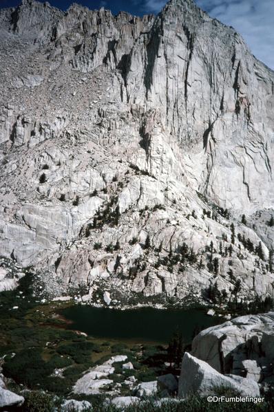 Mt. Whitney hike 09-1994 (19) Mirror Lake