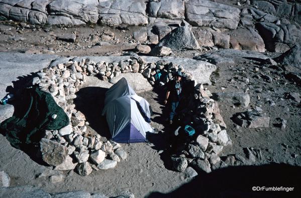 Mt. Whitney hike 09-1994 (23) Trail Camp