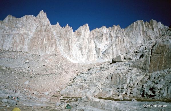Mt. Whitney hike 09-1994 (24) Trail Camp