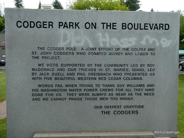 09 Codger Pole, Colfax