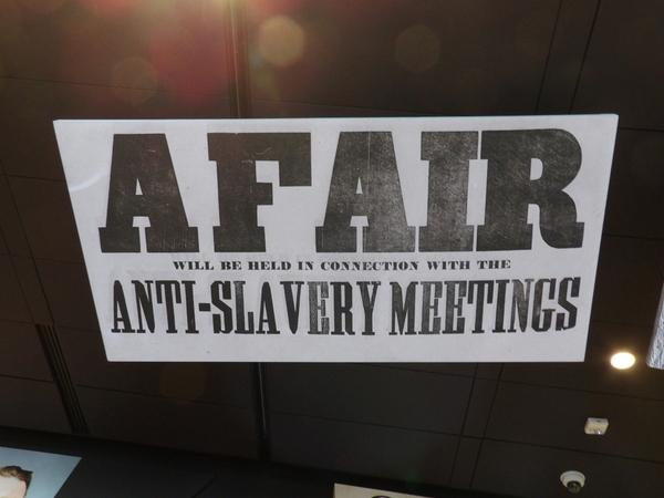 Anti Slavery Banner