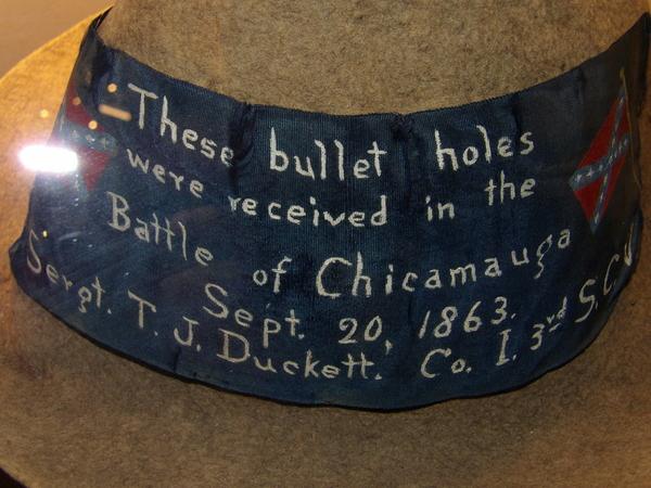 Bullet Hole Hat