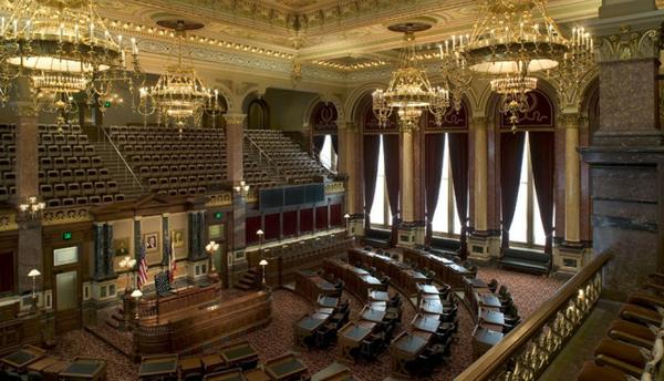 Iowa State Capitol Chamber
