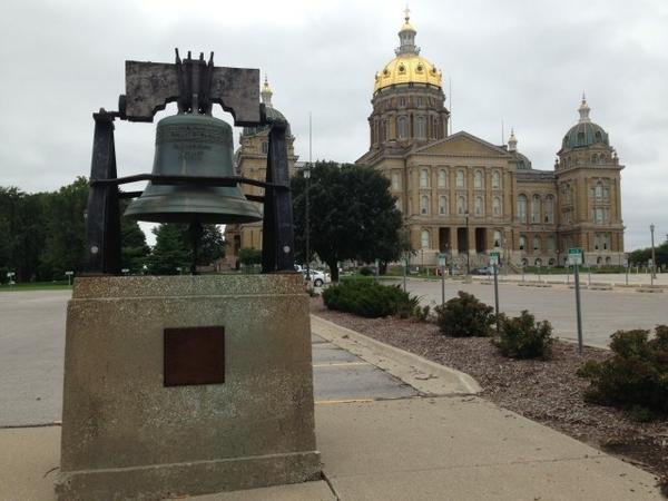 Iowa State Capitol Liberty Bell