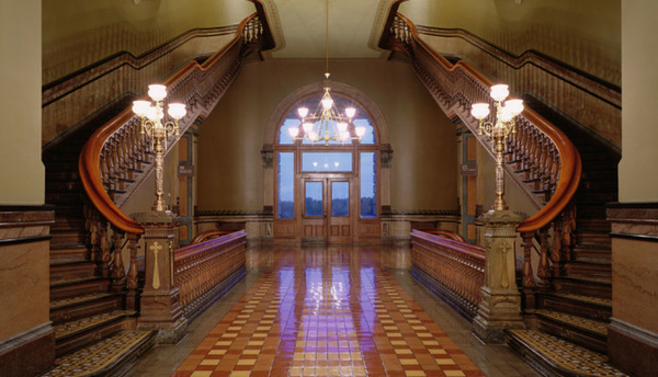 Iowa State Capitol Staircase