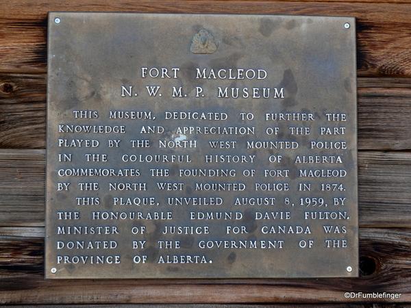 03 NWMP Museum, Fort MacLeod