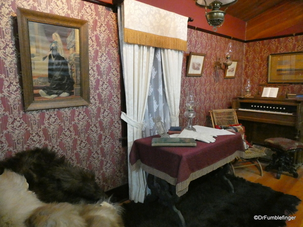 05 NWMP Museum, Fort MacLeod. Officer's quarters