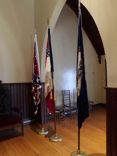 chapel flags