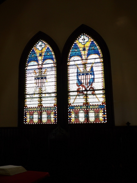 Soldier Stained Glass 2