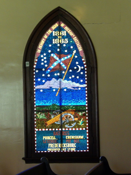 Soldier Stained Glass