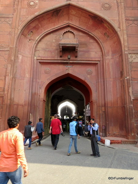 04 Red Fort, Delhi. Lahori Gate