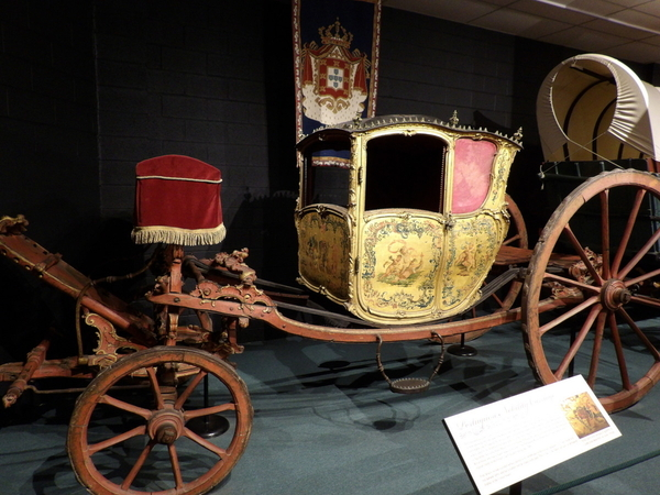 1727 Portuguese Nobility Carriage