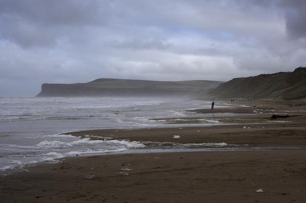 Mist foam beach Huntcliff w