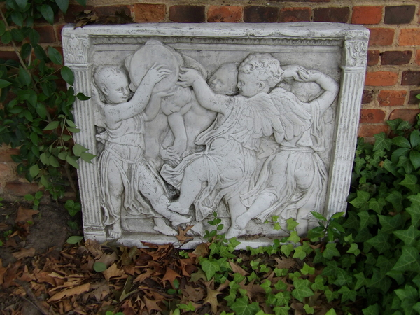 Courtyard Stone Carving