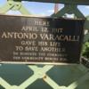 Bridge Antonio Varacalli Plaque