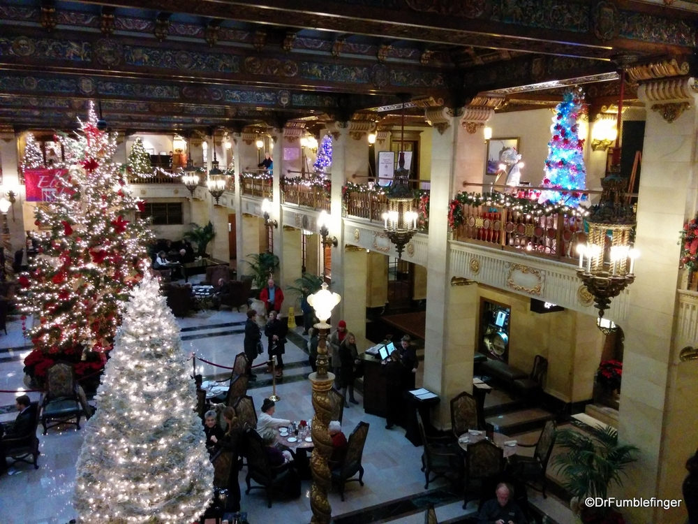 Davenport Hotel Christmas Tree Elegance 2021 Christmas At The Davenport Hotel Spokane Travelgumbo