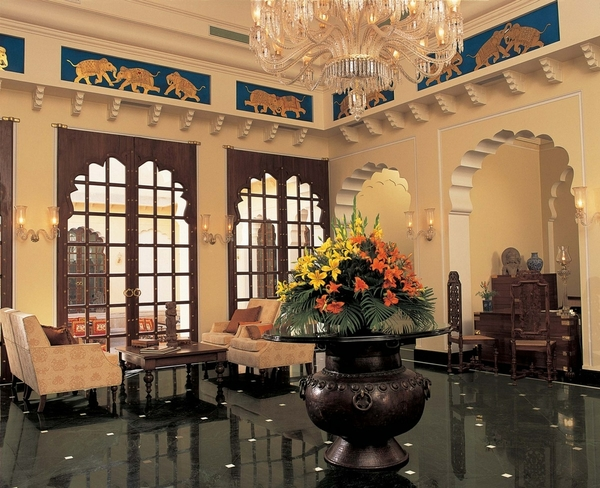 The Lobby - The Oberoi Vanyavilas , Ranthambhore