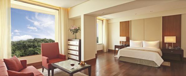 Premier Pool - Suite bedroom - The Oberoi, Gurgaon