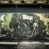 Seige mosaic at the Leningrad Memorial