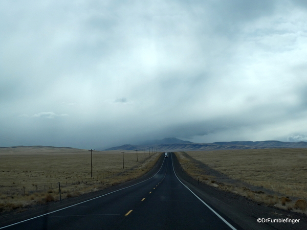 01 Approaching snowstorm, Nevada