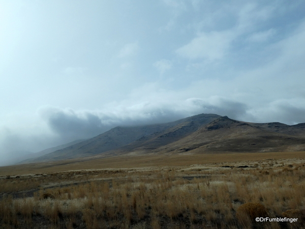 02 Approaching snowstorm, Nevada