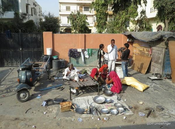 07 Roadside shops, Jaipur