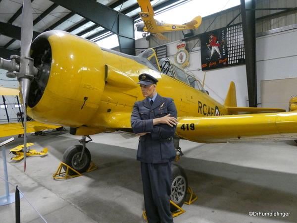 03 Bomber Command Museum, Nanton. North American Harvard Mk IV