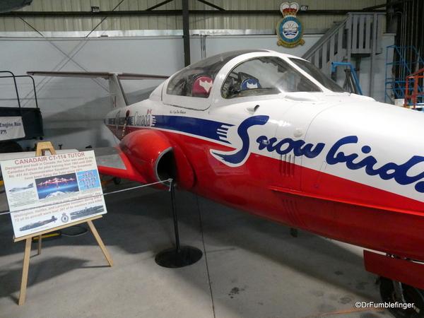 05 Bomber Command Museum, Nanton. Canadair CD114 Tutor