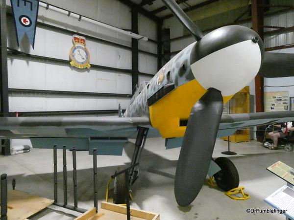 13 Bomber Command Museum, Nanton. Messerschmitt BF109